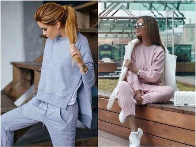 спортивная одежда для женщин в пижамном стиле