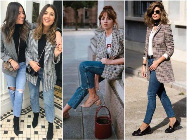 Обувь к клетчатому пиджаку