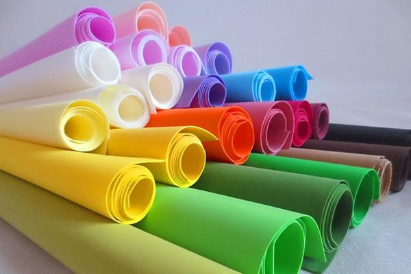 Разноцветный фоамиран