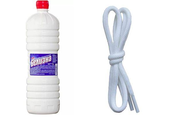 Белизна и шнурки