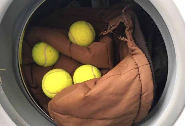 Теннисные шарики для машинной стирки