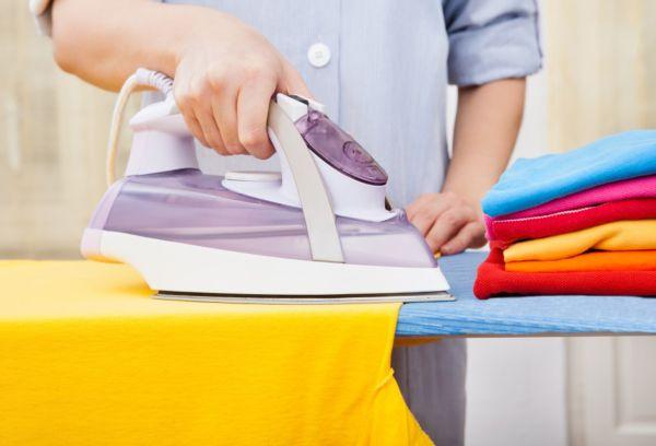 Глажка цветной одежды