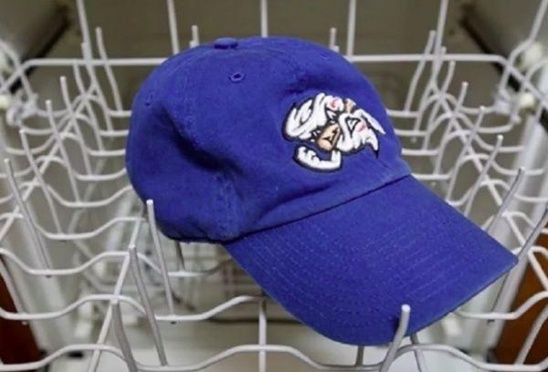 Стирка кепки в посудомоечной машинке
