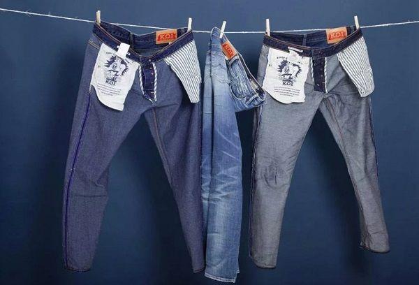 Правила сушки джинсов