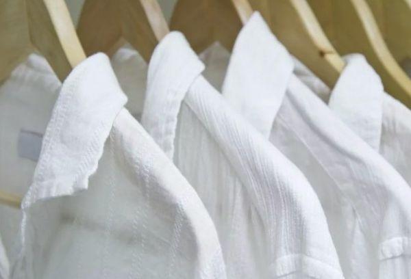 Как отбелить рубашку придав белый цвет в домашних условиях