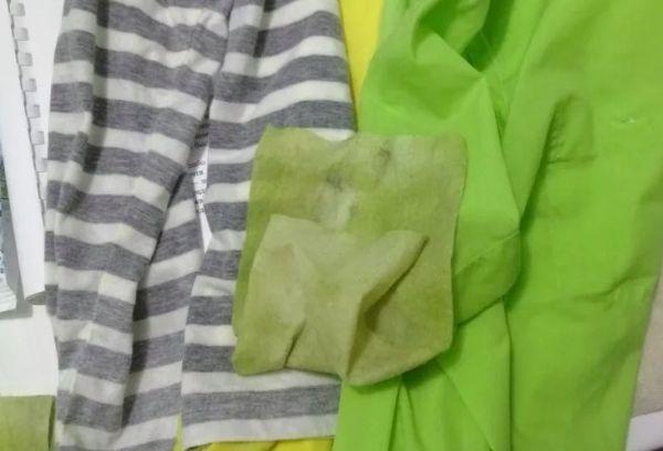 Салфетки чтобы не полиняла ткань