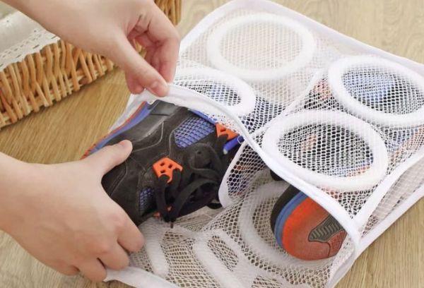 Сетка мешок для стирки обуви