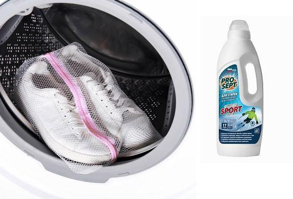 Средство для стирки обуви