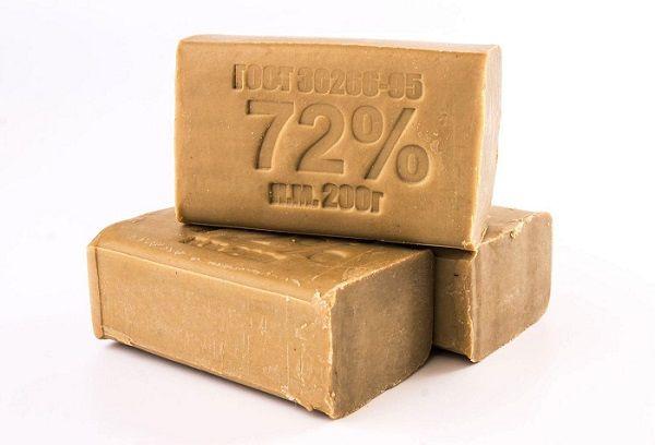 Хозяйственное мыло с отметкой 72 %