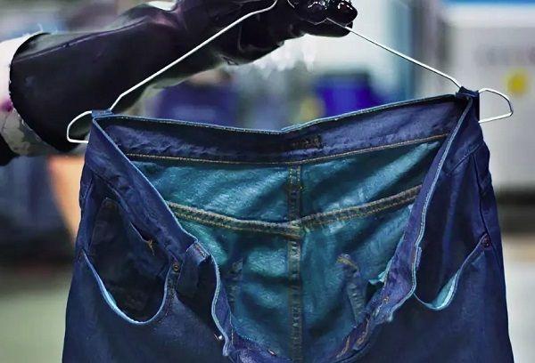 Красятся джинсовые вещи что делать в домашних условиях