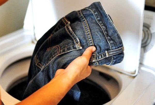 Сушка джинсов