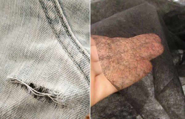 Ремонт порвавшейся одежды