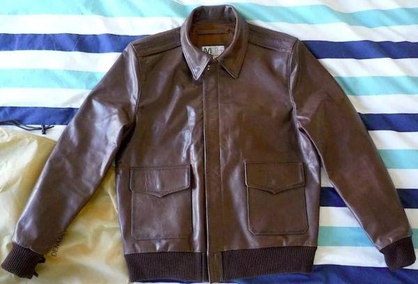 кожаная куртка после покраски