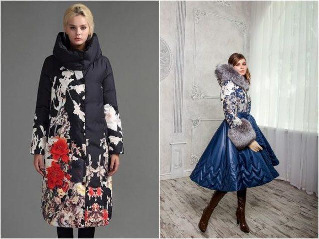 Куртки с цветочными узорами