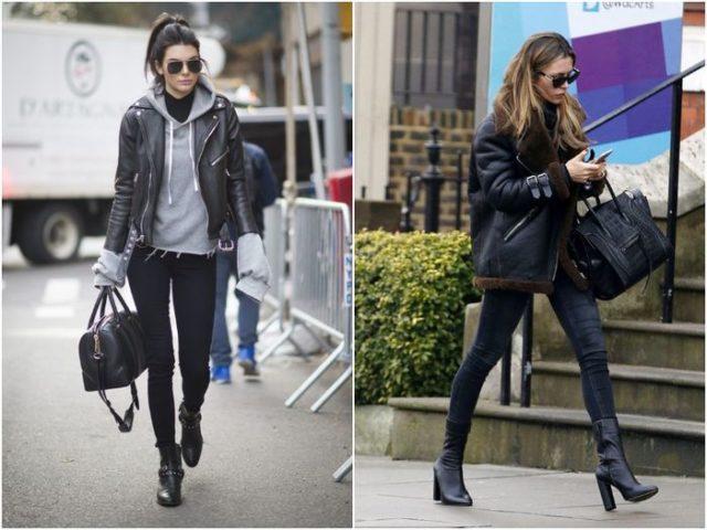 Модные куртки из кожи