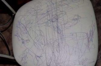 Разрисованный стул