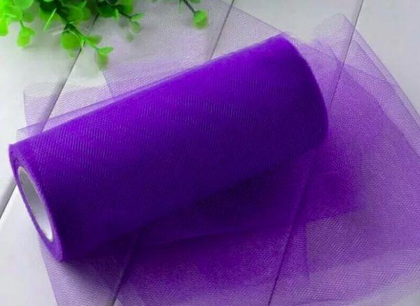 Фатиновая ткань сиреневая