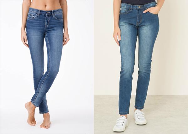 Разница между джинсами слим и скинни