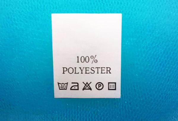 Правила ухода за изделиями из полиэстера