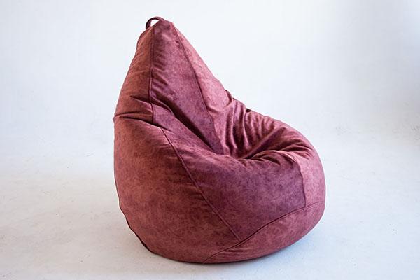 Кресло-груша из микровелюра