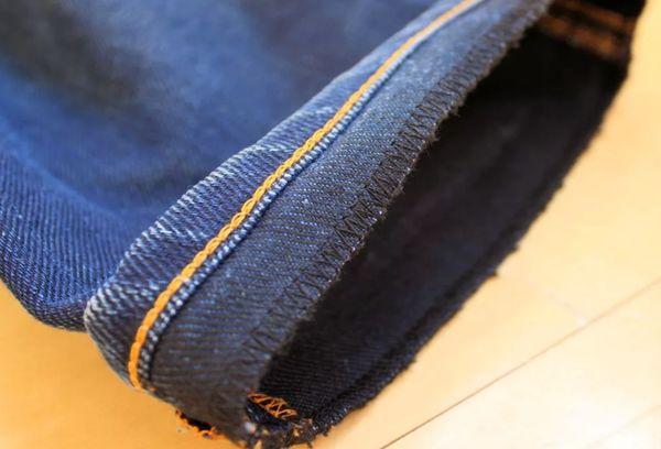 Окантовка джинс