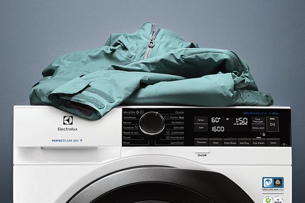 Куртка на стиральной машине
