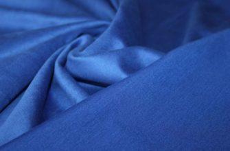 Синяя прочная ткань милано