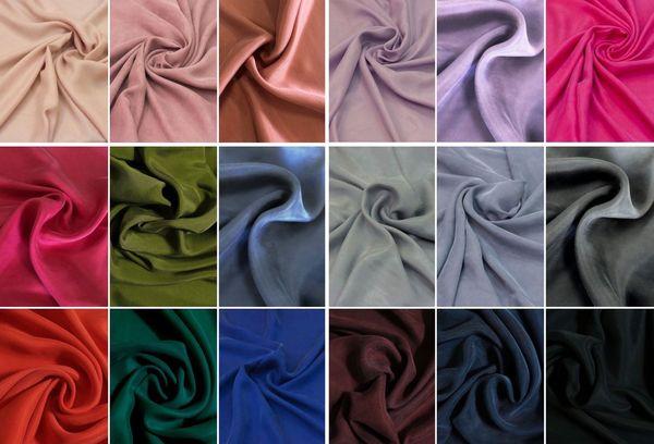 Оттенки шелковой ткани