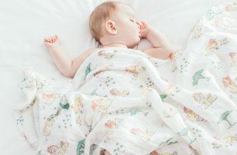Новорожденный ребенок спящий
