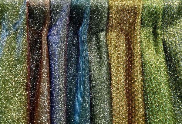 Ткань Люрекс золотой