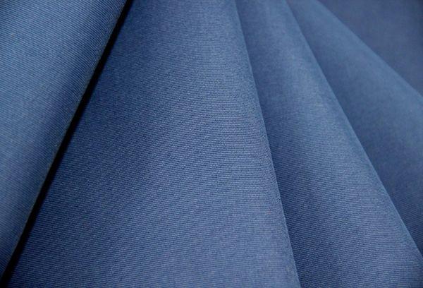 Синяя ткань таслан