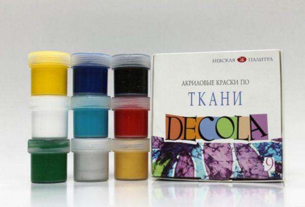 Декола акриловые краски