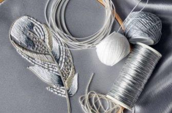 Техника люневильская вышивка