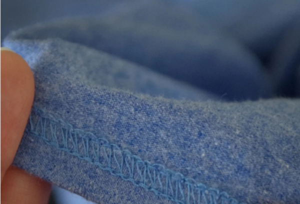 Обработка распошивочным швом