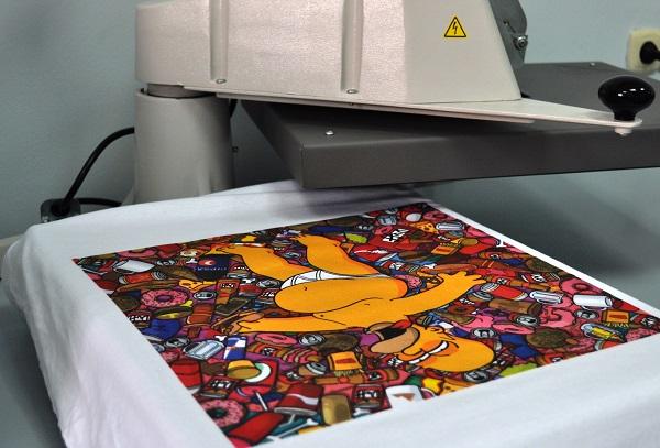 Цифровая печать на ткани