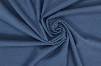 Синяя ткань Гальяно